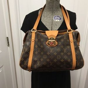 Authentic Louis Vuitton Monogram Stresa GM Bag